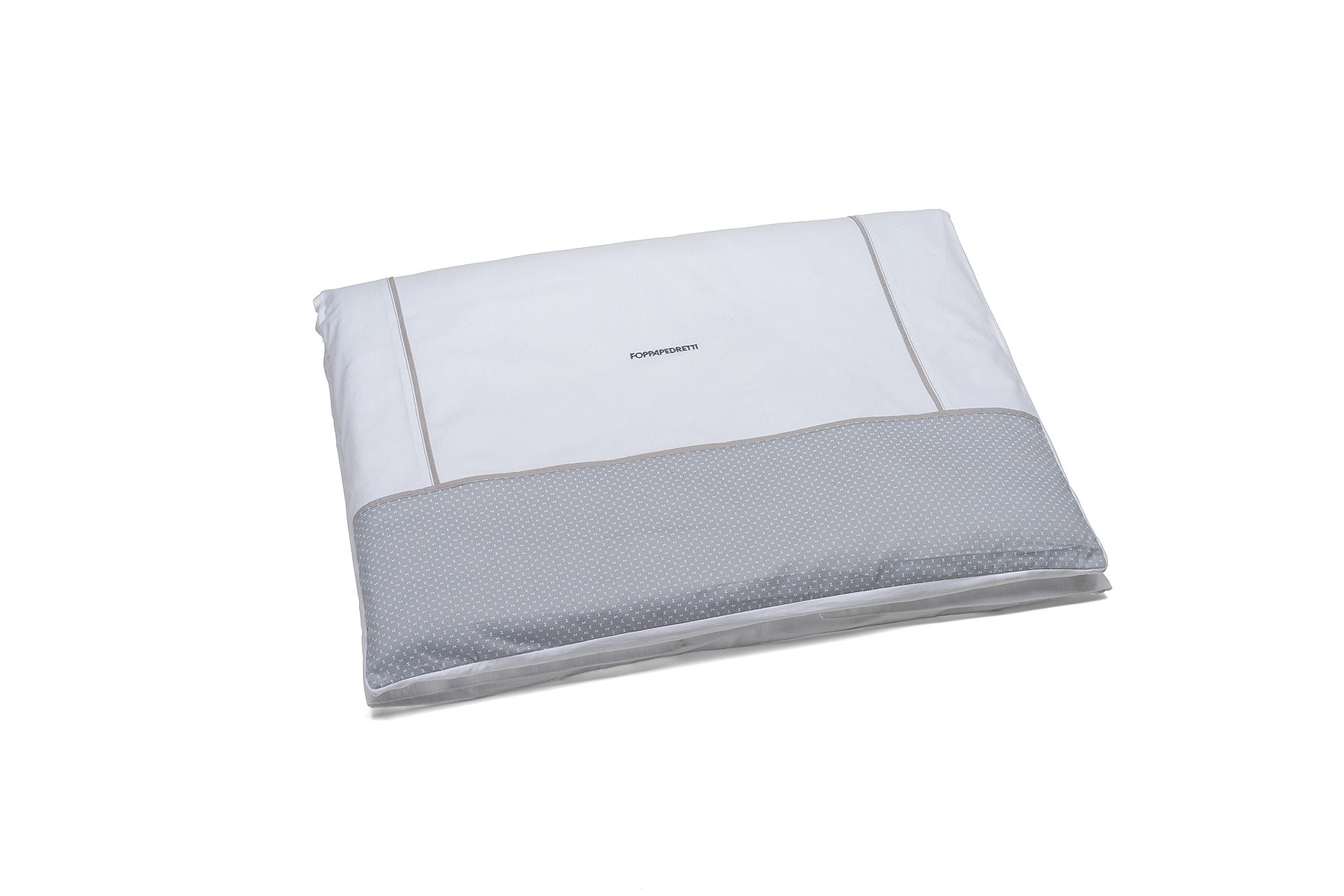 Grey cot duvet and cover